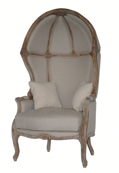 french canopy chair metal chairs with cushions provincial birdcage vintage oak mccarthy tents rochester