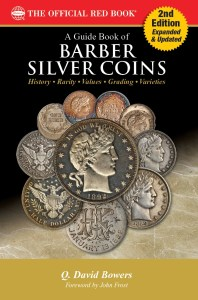 Barber Silver Coins book cover, Second Edition