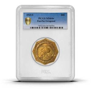 PCGS Rarities Holder PAN PAC $50