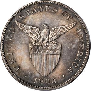 1904 1 Peso reverse