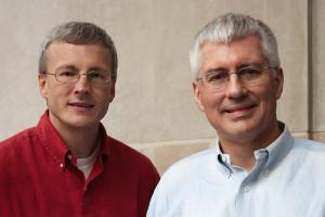 Len Augsburger and Joel Orosz