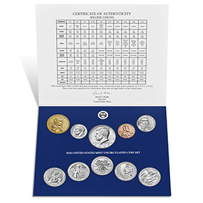 2020-uncirculated-set-coins