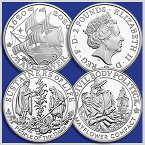 U.S. Mint Mayflower Coins