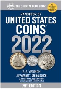 U.S. Coins Blue Book 2022 cover