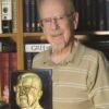 Ken Bressett with Yeoman plaque