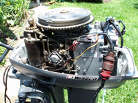 75 Hp Johnson Ignition Wiring 1984 Evinrude 35hp Sold