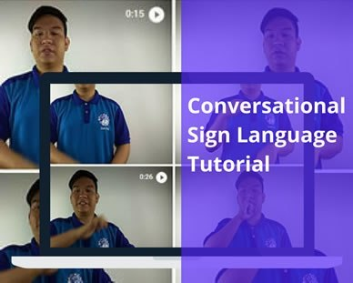 Conversational Sign Language Poster