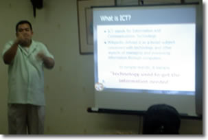 Information Technology Education for the Deaf in the Philippines