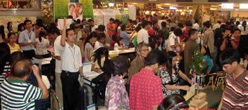 MCCID studes demonstrate in Job Fair