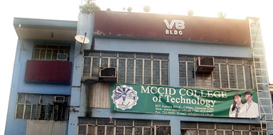 MCCID occupies the whole 3rd floor and half of 2nd floor of VB Bldg along Aurora Blvd in Cubao, Quezon City. The school site is very near to any mode of transportation (jeep, bus, MRT/LRT).