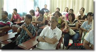 Class opening, meeting with parents held