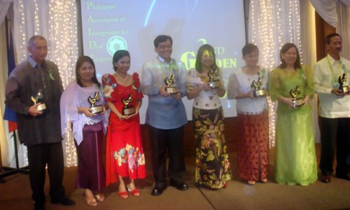 2nd Golden Hands Awardees