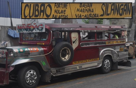 Jeepney Ride from Cubao, QC