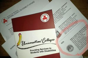 Universities  and Colleges Providing Services to Students with Disabilities Book