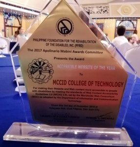 Apolinario Mabini Awards Plaque