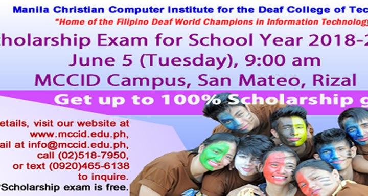 Scholarship Exam on june 5