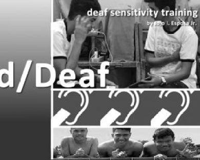 d/Deaf Poster