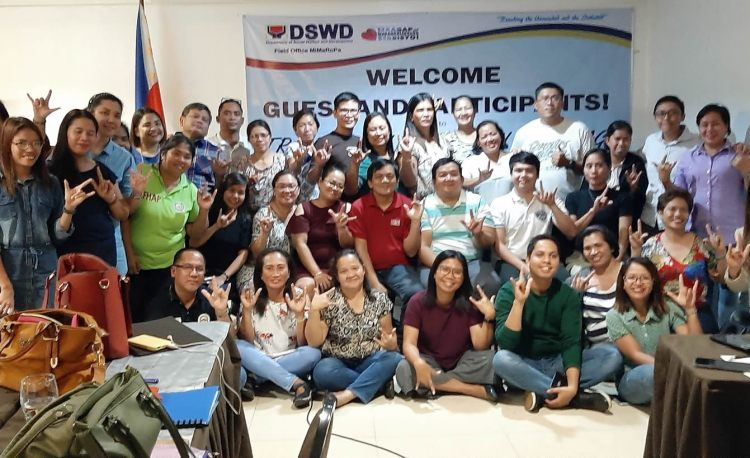 Participants from DSWD-Region IVB