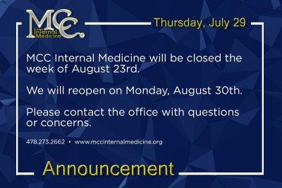 MCC Internal Medicine Closed