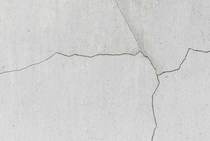 Crack from fracking