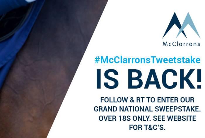McClarrons Tweetstake