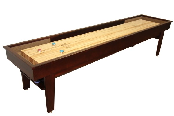 12 Foot Patriot Shuffleboard Table Mcclure Tables