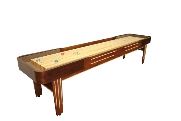 12 Foot Tournament Ii Deluxe Shuffleboard Table Mcclure Tables