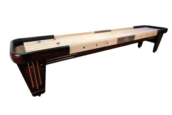 12 Foot Rock-ola Shuffleboard Table Mcclure Tables