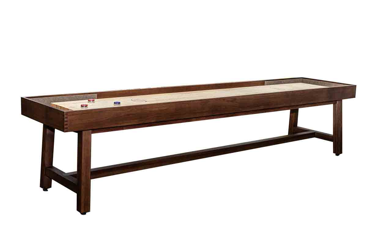 table shuffleboard dimensions diagram prs se custom 24 wiring 12 foot oxford mcclure tables
