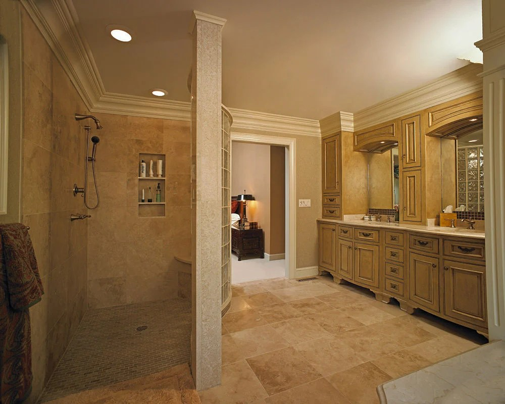 Bathroom Design with Walk-In Shower