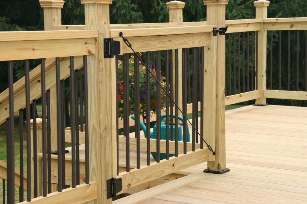 Deck Railings Installation Remodeling Company Syracuse Cny | Pressure Treated Graspable Handrail