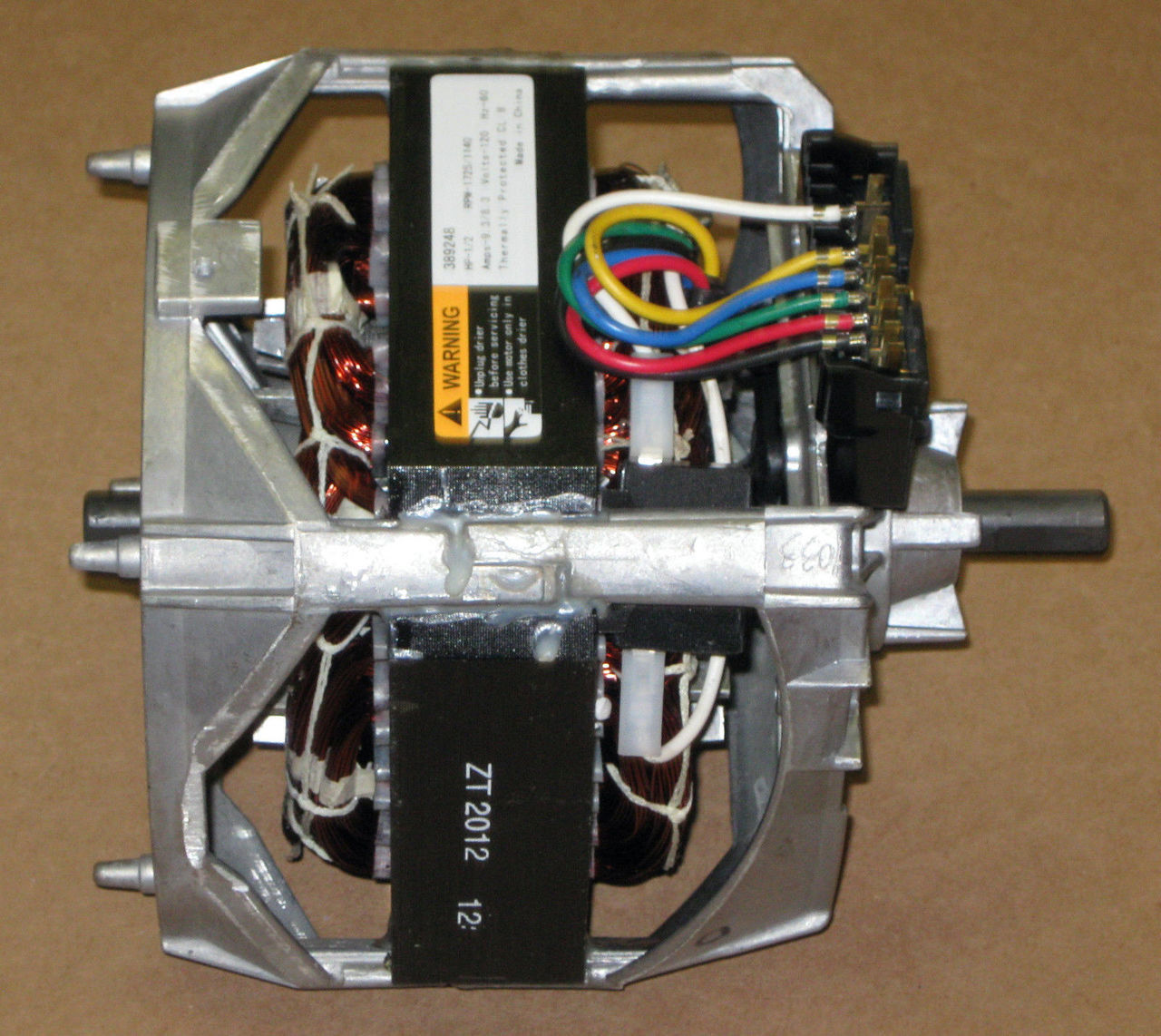 hight resolution of washing machine motor for whirlpool mccombs supply co 389248a 389248