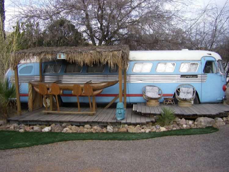 1947 Tiki Bus at Shady Dell