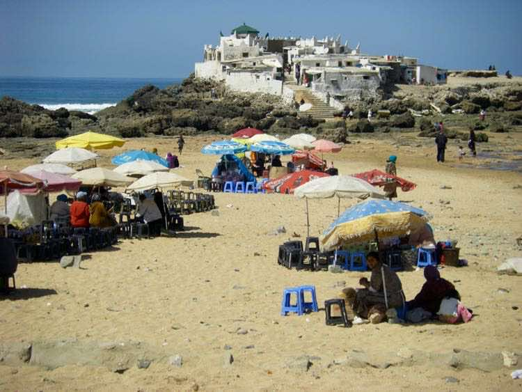 Casablanca Morocco beach