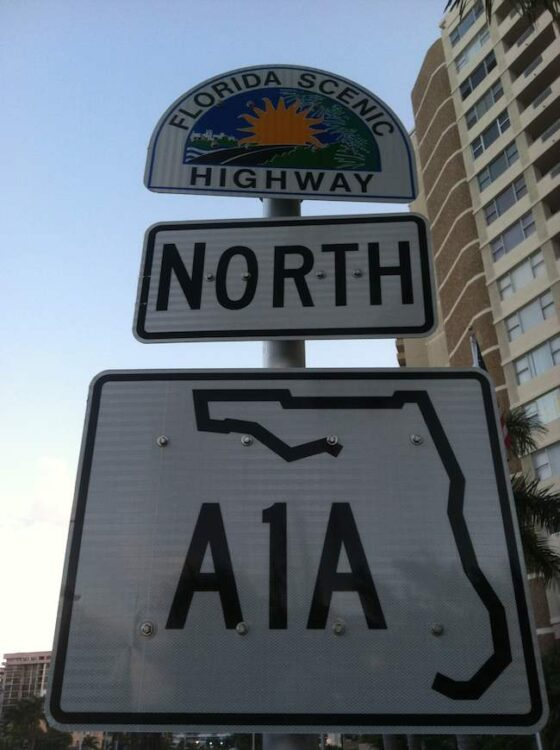 highway A1A, Scenic Drives of South Florida