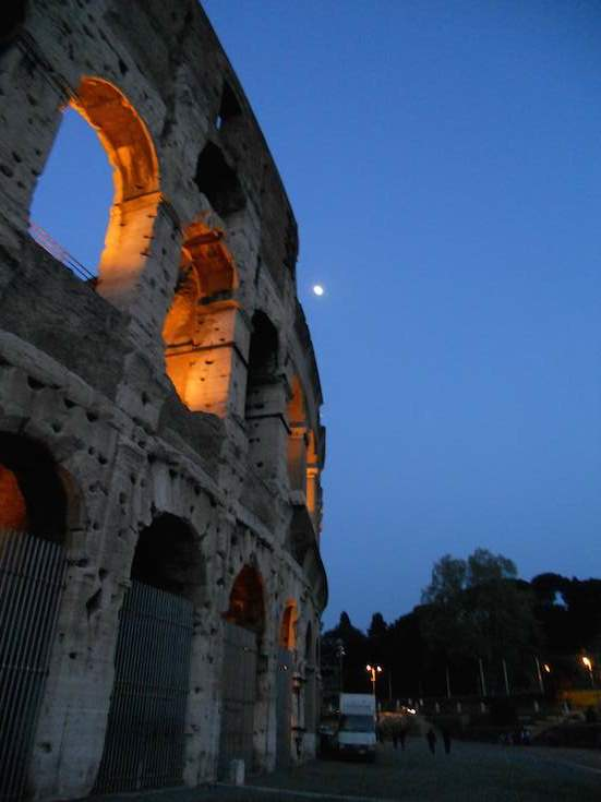 Scenes of the Coliseum, Roman Colosseum, Italia by Charles McCool of McCool Travel