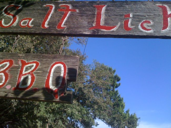 8 great foods: Salt Lick BBQ