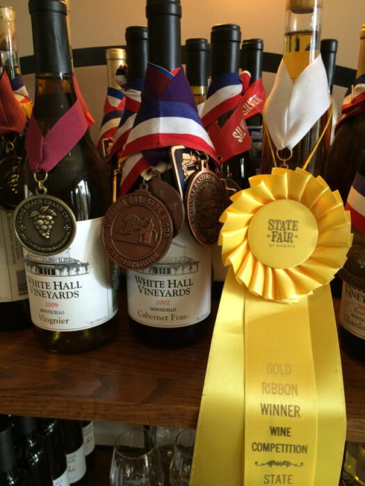 White Hall Vineyards is one of the best Virginia wineries