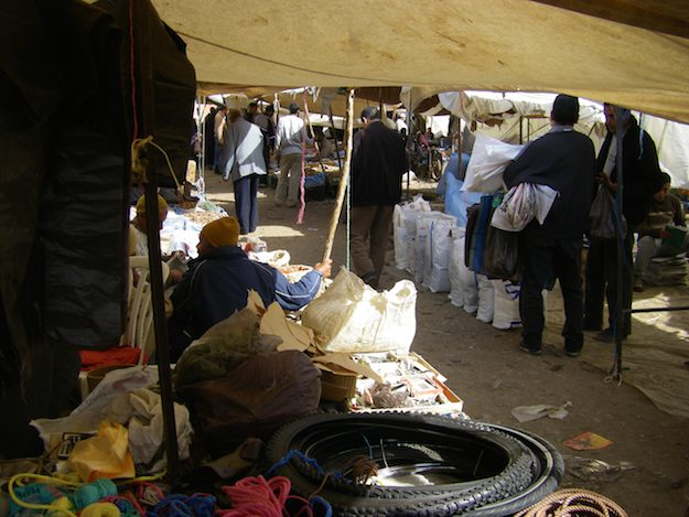 a Morocco Market can be like a USA flea market