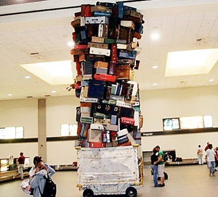 Avoid baggage fees