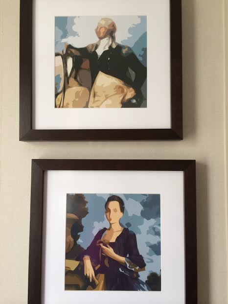 Kimpton Hotel George: George and Martha Washington