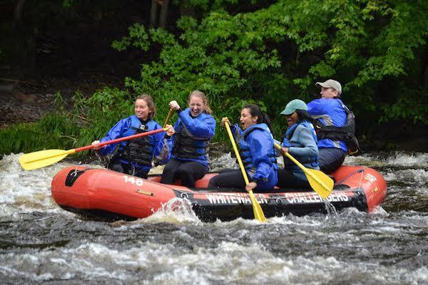 Poconos: Lehigh River rafting
