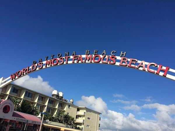 Daytona Beach sign