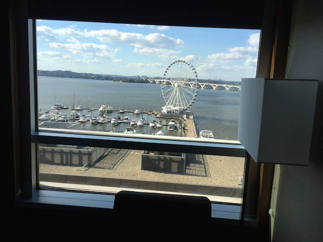 AC Hotel National Harbor room view