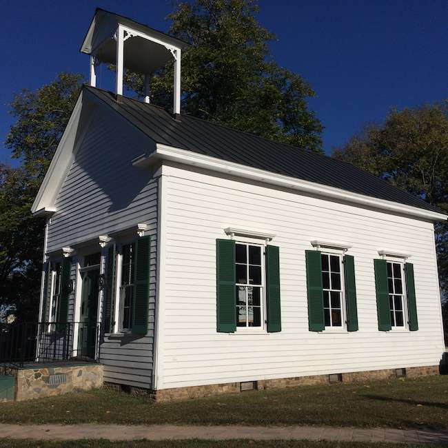 Brentsville Virginia historic church