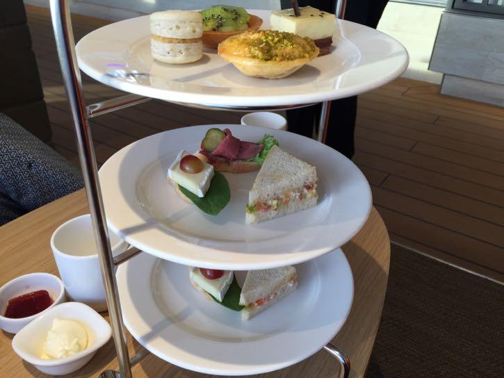 Viking Star dining options: Wintergarden afternoon tea