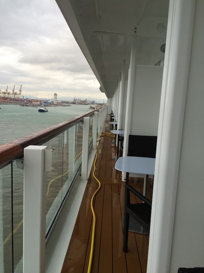 Viking Cruises: Viking Star: balconies