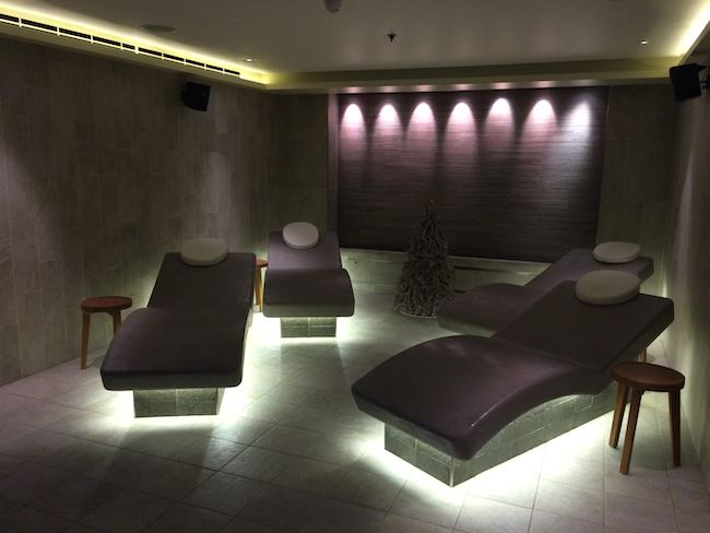 Viking Cruises : Viking Star : spa chairs