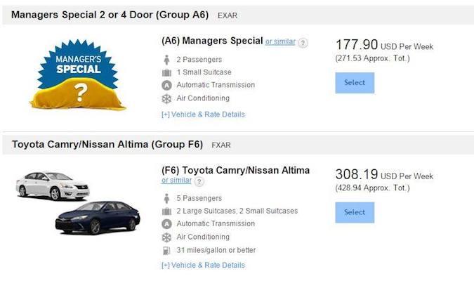 car rental tips, car rental discounts
