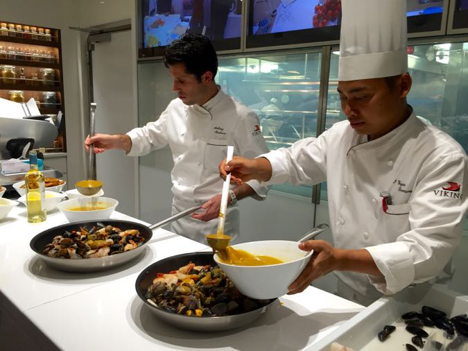 Viking Cruises Chefs at work